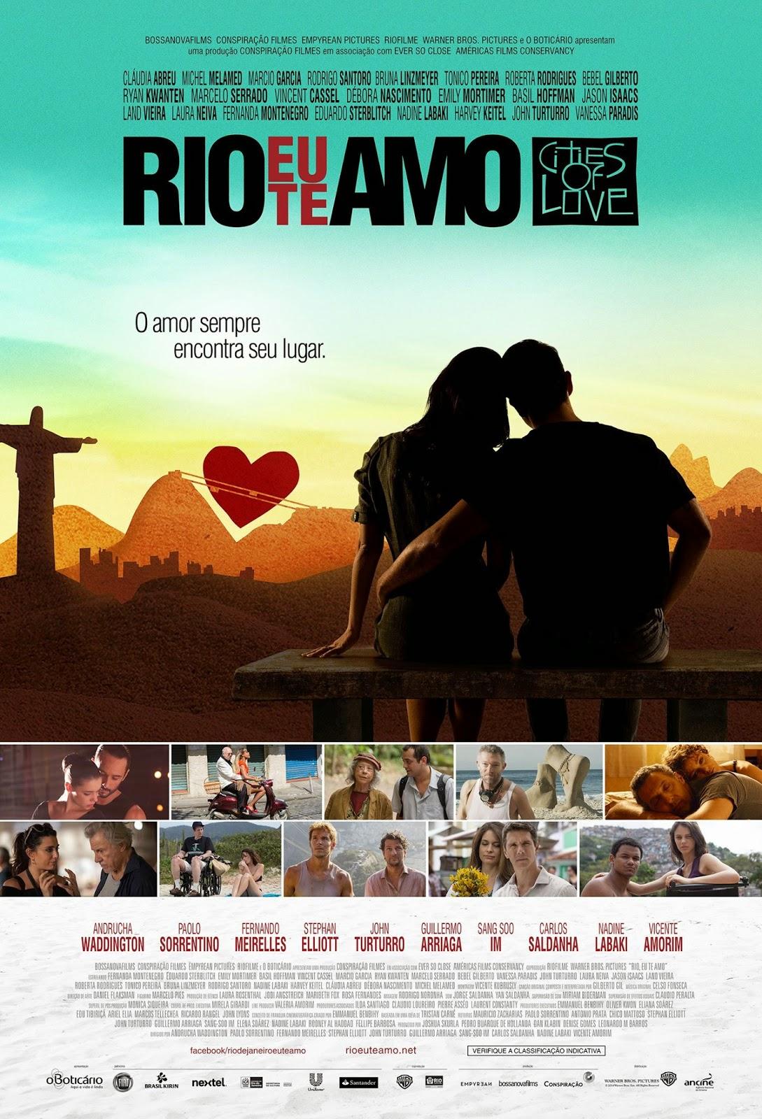 Pôster/capa/cartaz de RIO, EU TE AMO