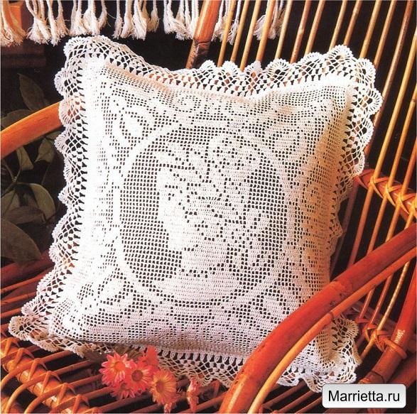 вязание филейное фото