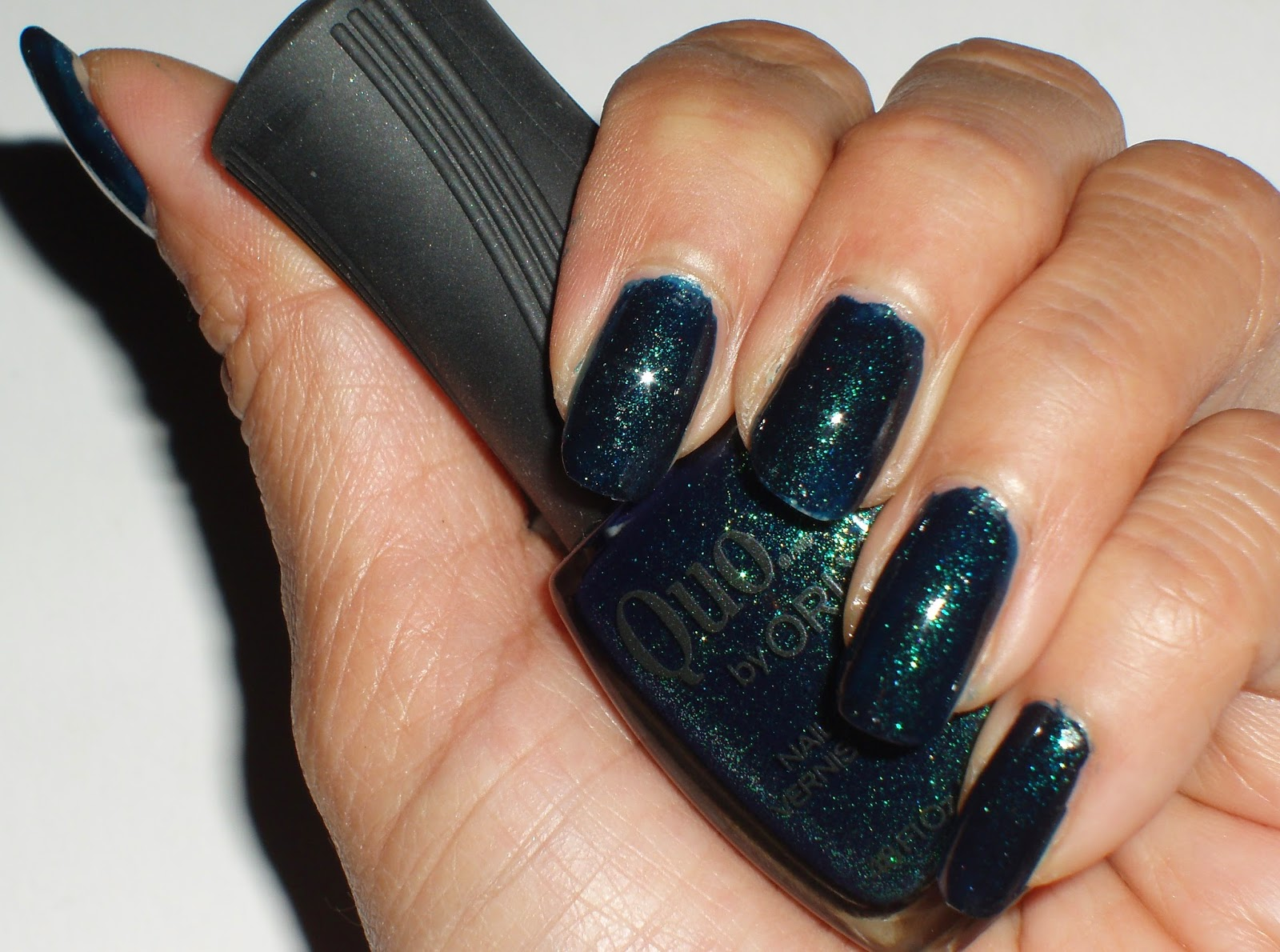 Sparkled Beauty: NOTD: Quo by Orly Dark Emerald