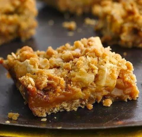 Caramel Apple Bars | Cook'n is Fun - Food Recipes, Dessert, & Dinner ...