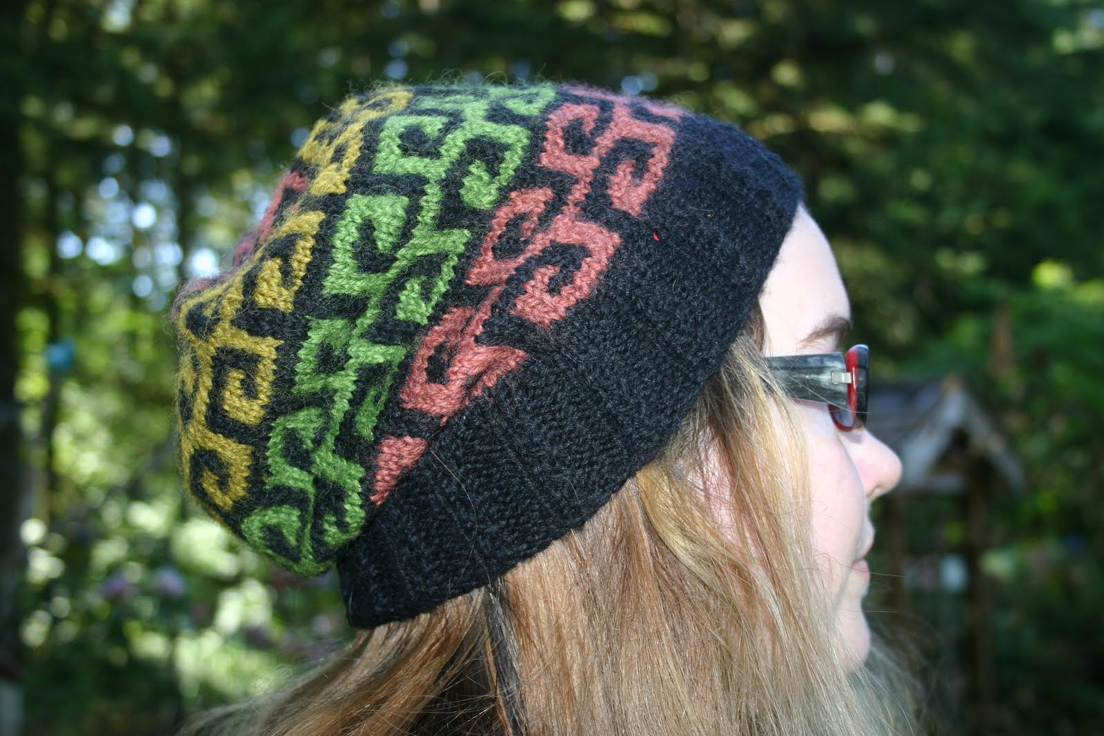 Stained Glass Fretwork Hat
