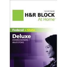 H & R Block Deluxe 2013