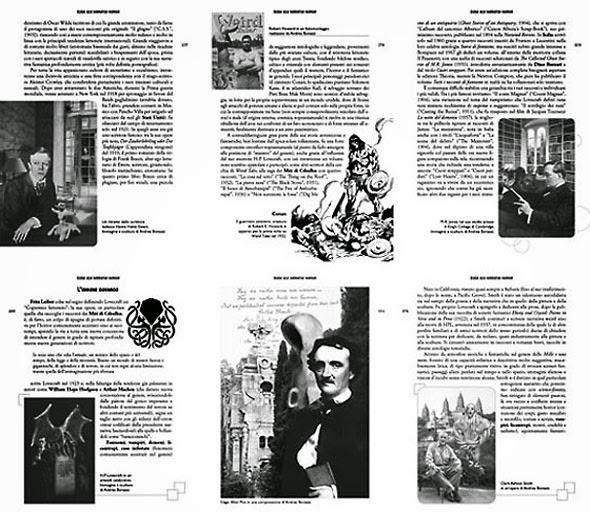 Andrea Bonazzi, illustrations in 'Guida alla letteratura horror'