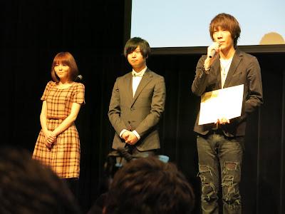 阿部大樹さん、斉藤壮馬さん、原紗友里さん