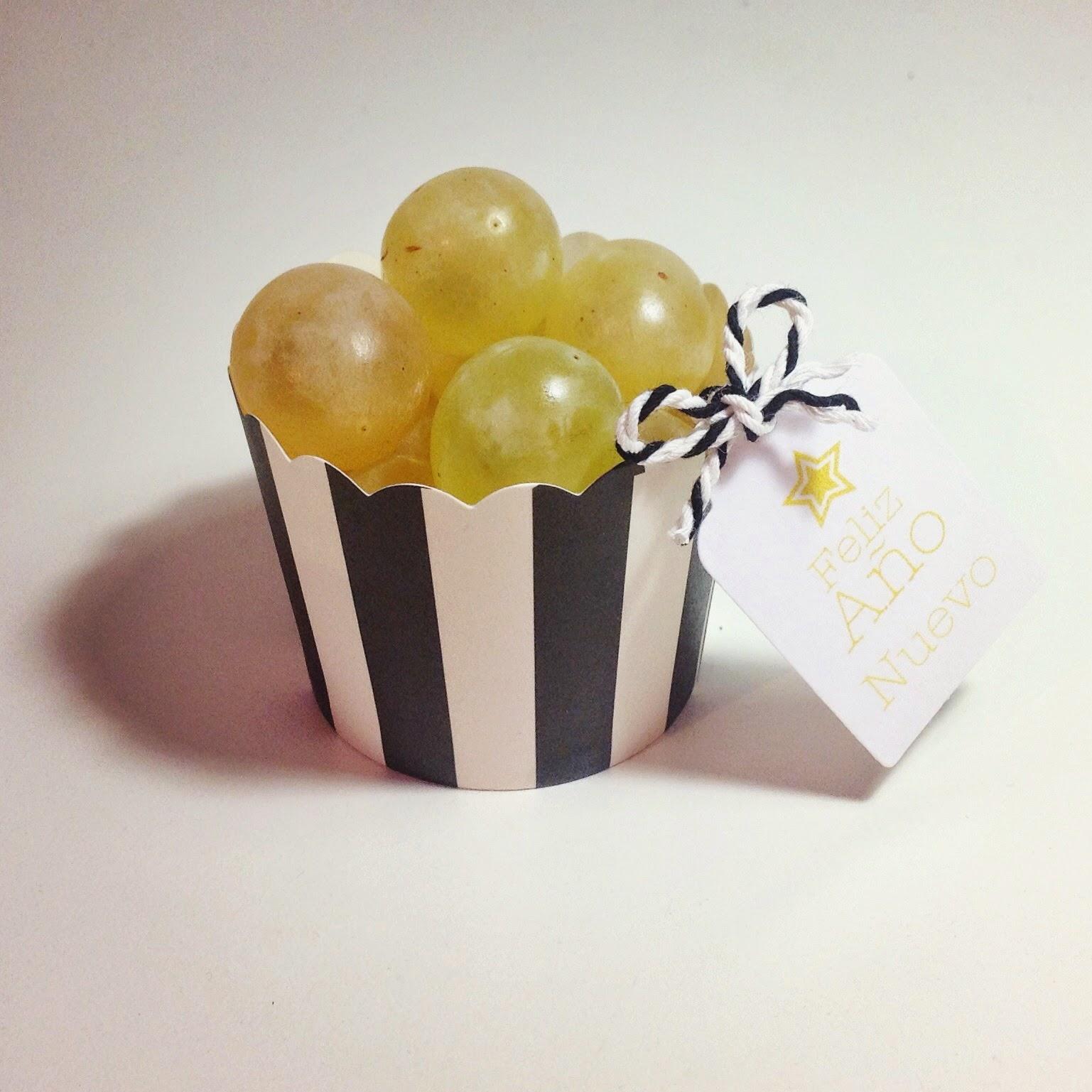 Uvas Nochevieja Menta y Limón