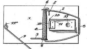 Patent by Hooker (1894)
