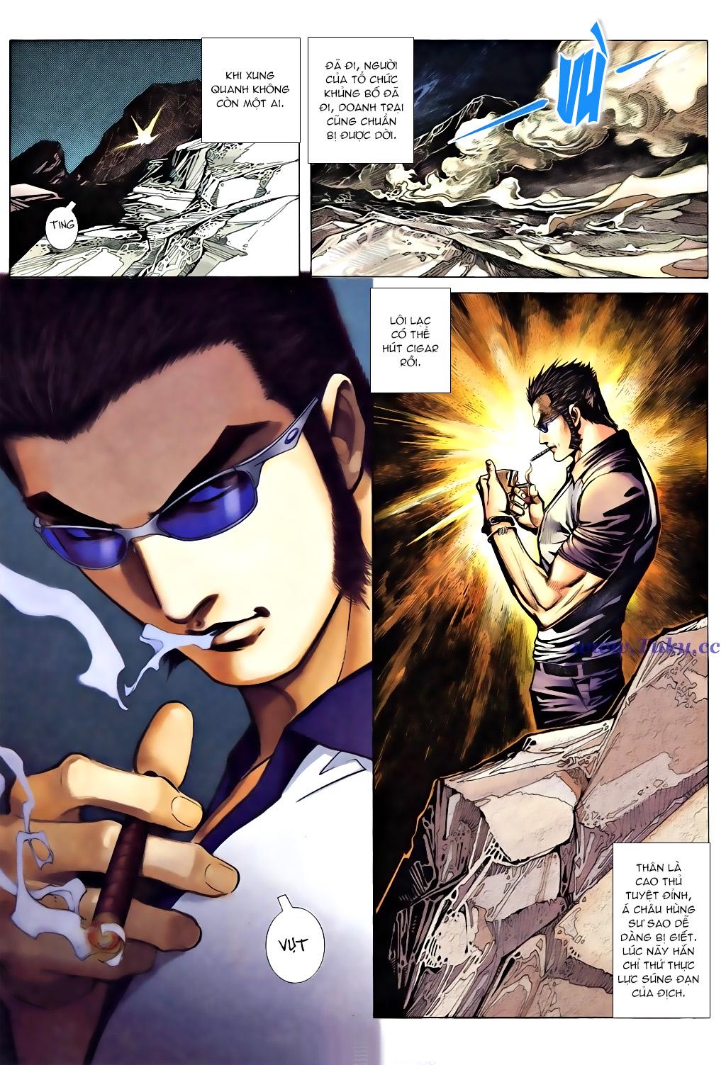 Á Châu Hùng Sư Chap 3 - Next Chap 4