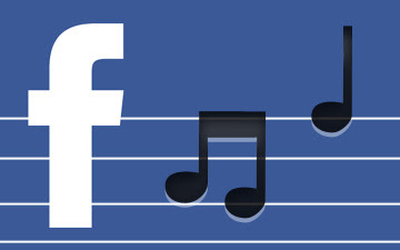 Facebook Vibes Music Service