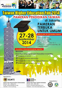 TAIWAN HIGHER EDUCATION FAIR 2014 KEMBALI HADIR!