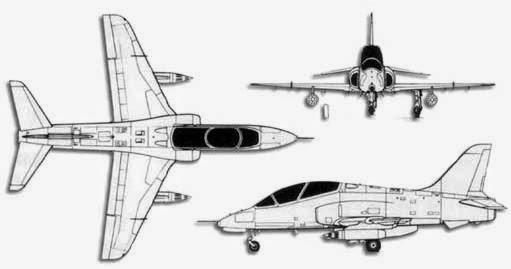 airplane scale modelkit  bae hawk