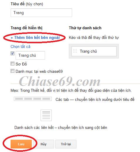 Cách tạo menu hiển thị trên mobile cho blogspot  - Menu trên thiết bị di động