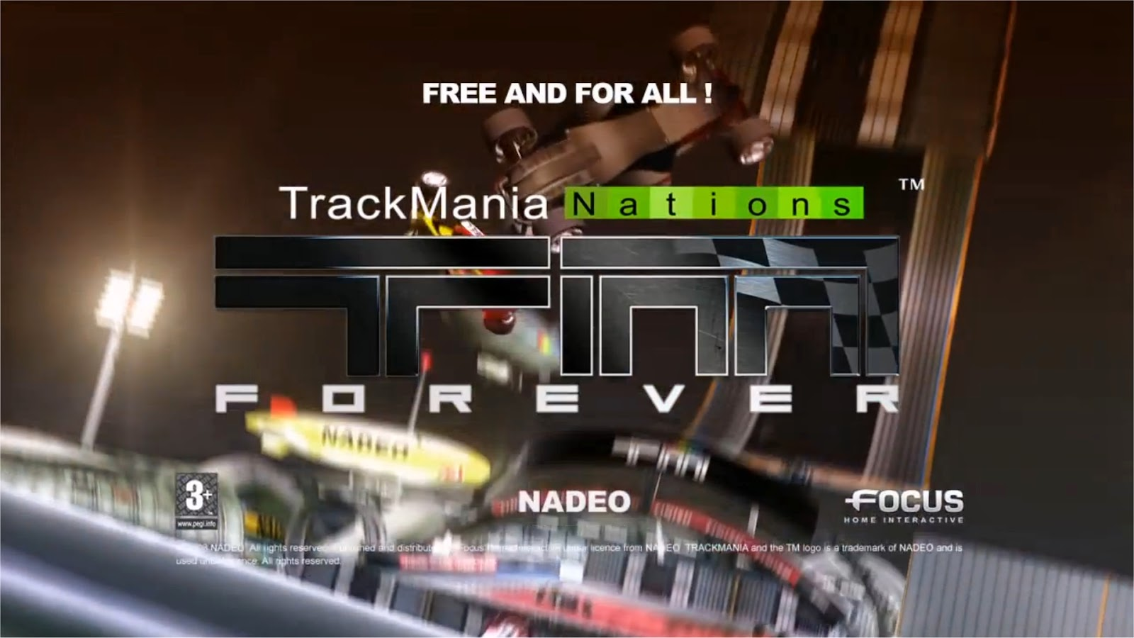 TrackMania Nations Forever Logo