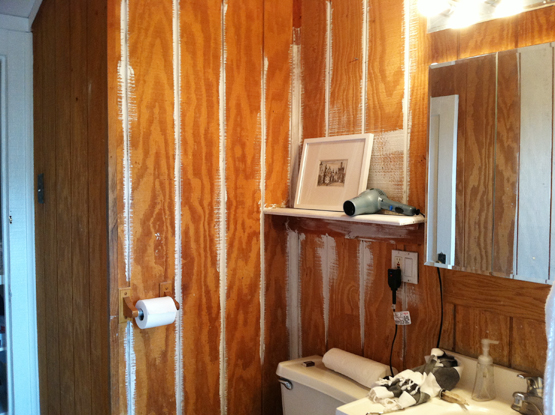 Painting Wood Paneling Is A Real Pain In The Patoot Not Only Is The Wood  Like