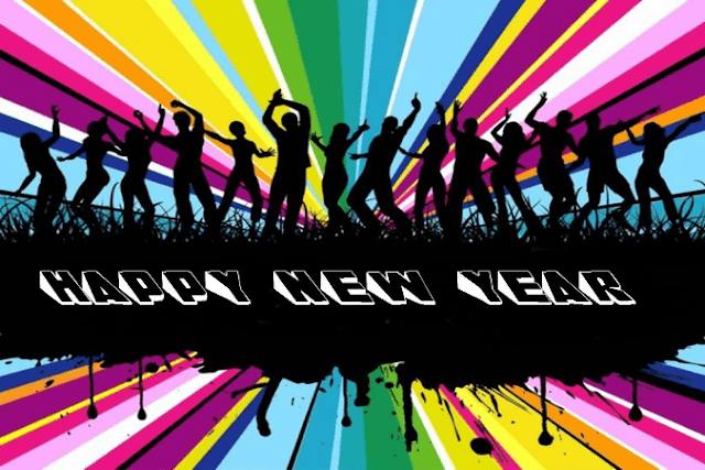 happy new year images dancing guys