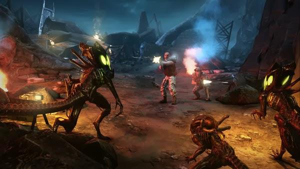Game bắn súng Aliens Colonial Marines (Quái vật không gian)
