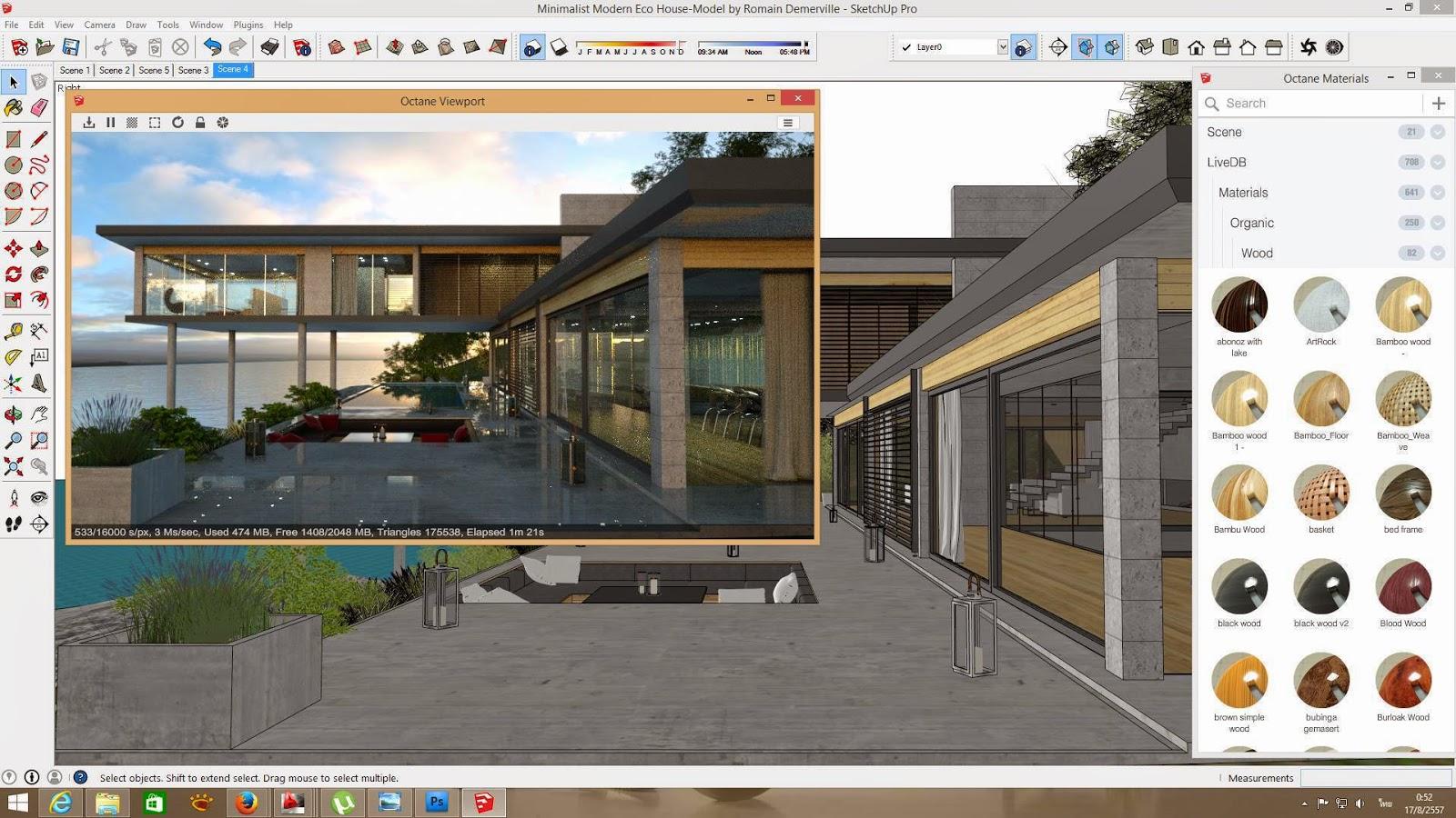 Curso de photoshop para arquitectura dibujos renders t for Aulas web arquitectura
