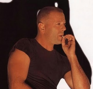 bruce willis smoking