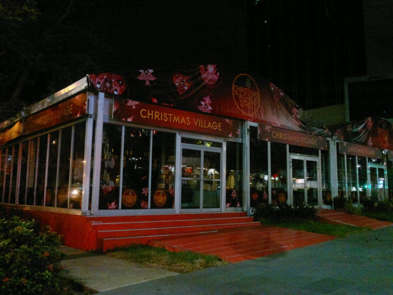 Рождественский базар - Сингапур с 29 октября