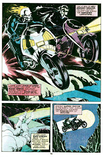 Ghost Rider v3 #35 marvel comic book page art by Jim Starlin