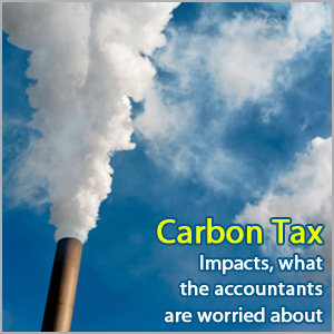 Carbon Tax Impacts - What the accountants are worried about