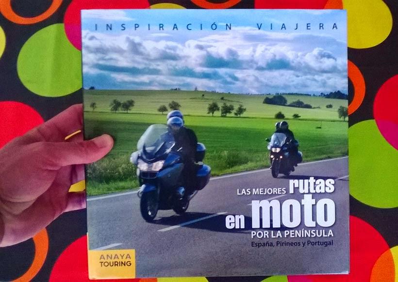 Libro de Pedro Pardo - Rutas en moto por España