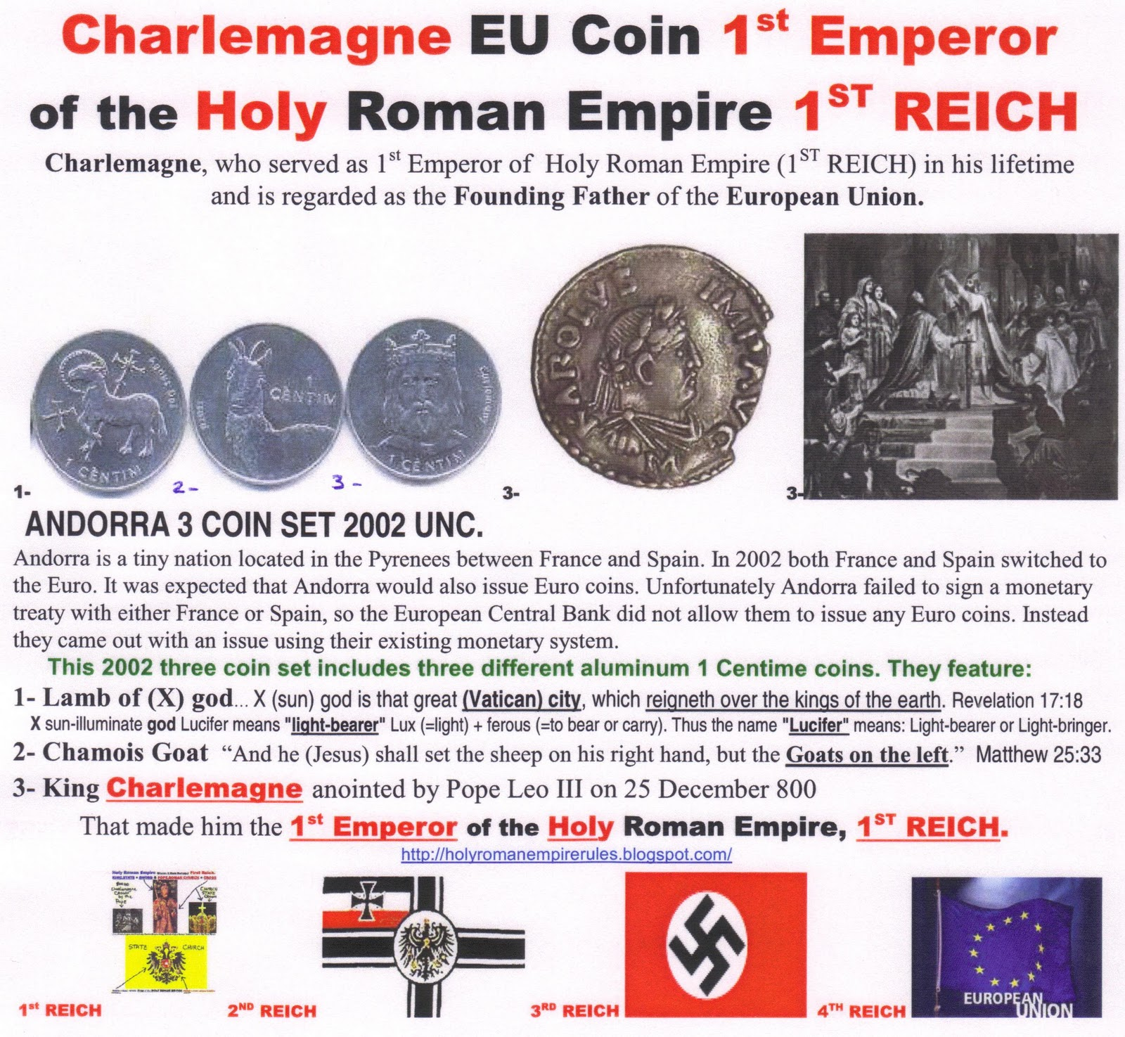 First Emperor of The Holy Roman Empire The First Holy Roman Emperor