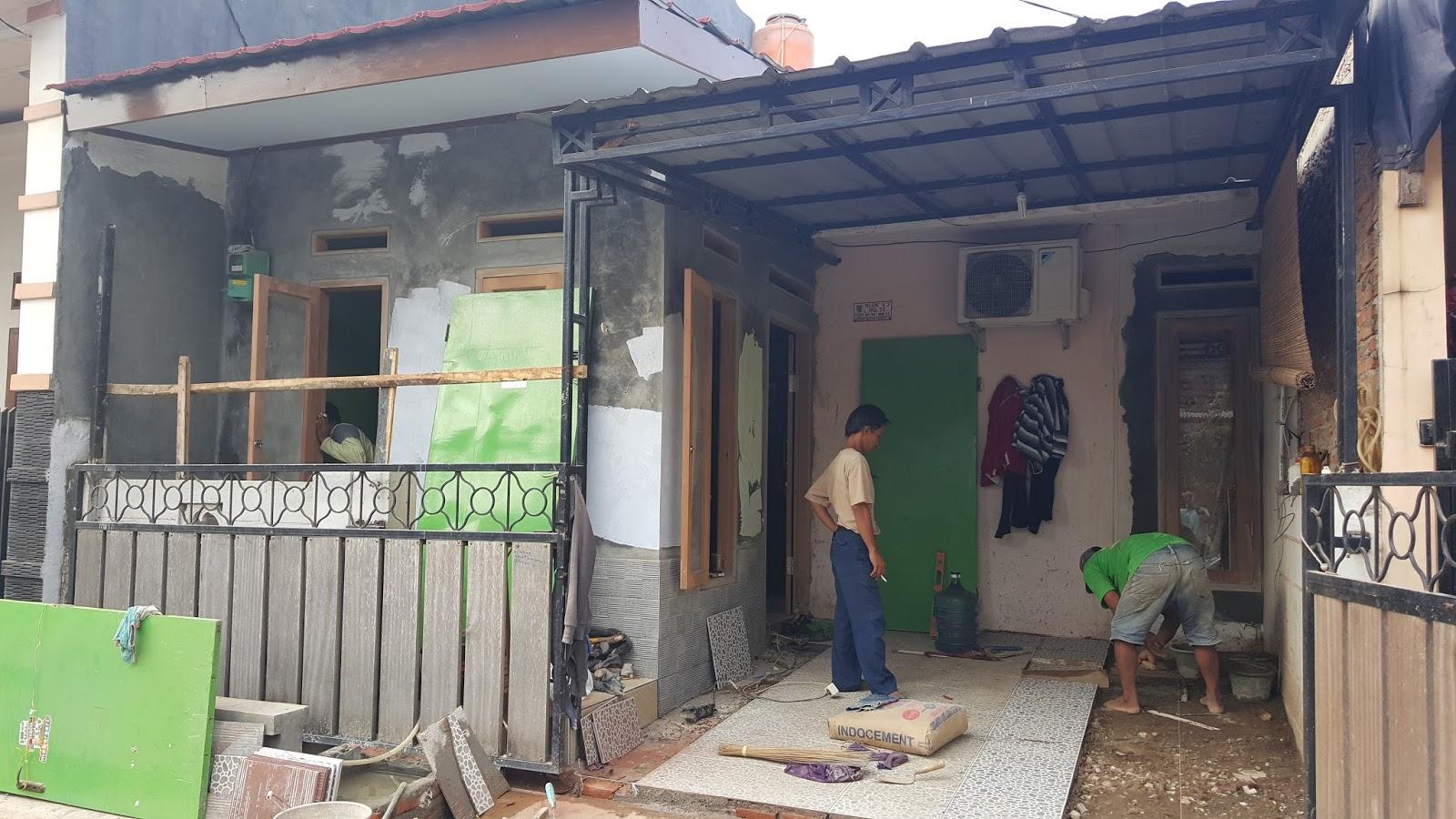 Portofolio Project Renovasi Rumah Baitizania Di Bekasi Timur Regency Bekasi  JASA RENOVASI