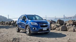 2014 Chevrolet Trax blue