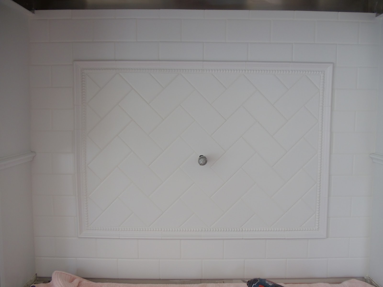 Matte White Subway Tile Backsplash