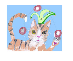 Jewelz the Juggling Cat