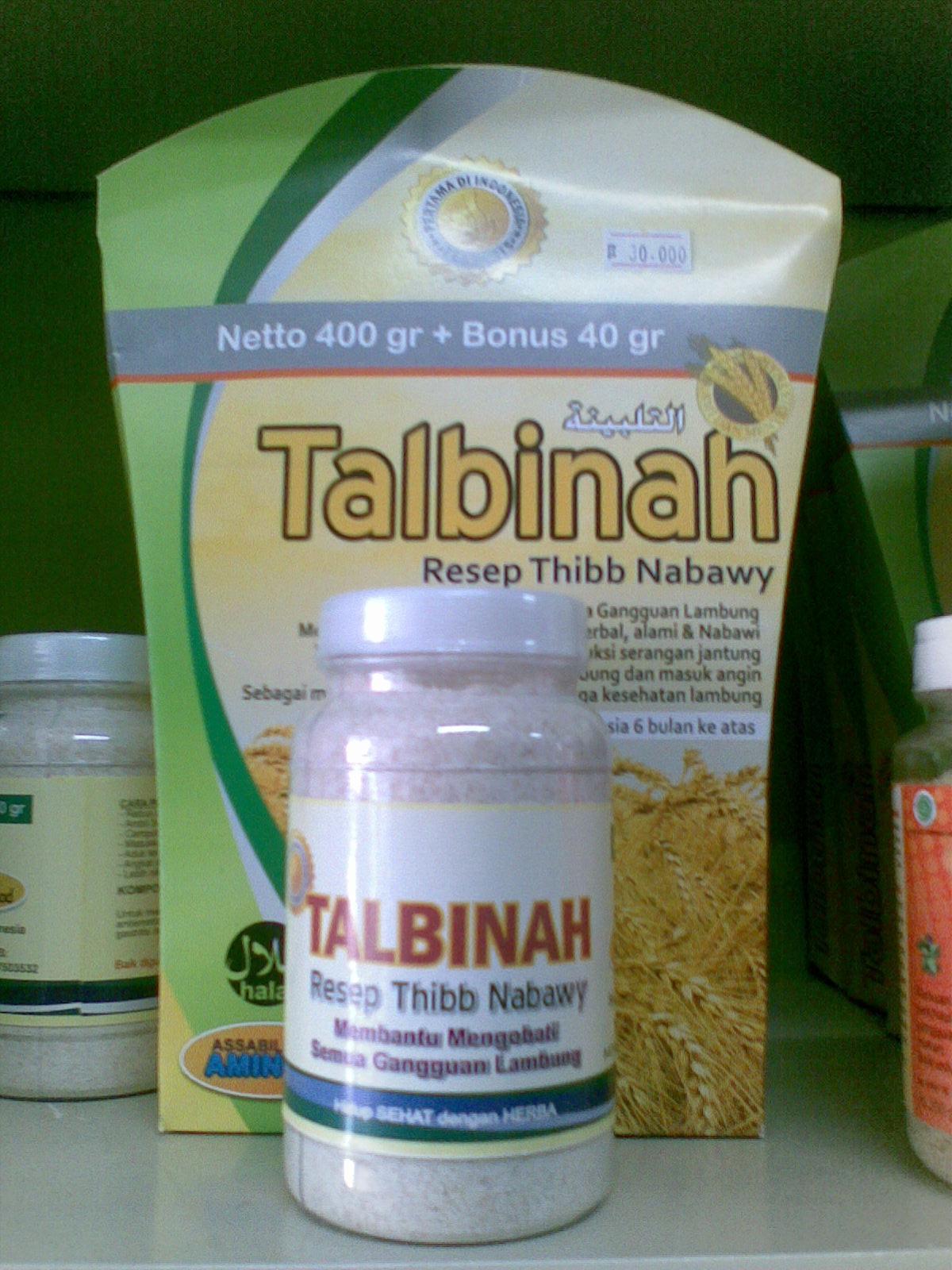 Toko Herbal Herbacare Tepung Gandum Talbinah Obat Maag