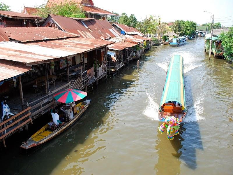 kanal thonburi klong