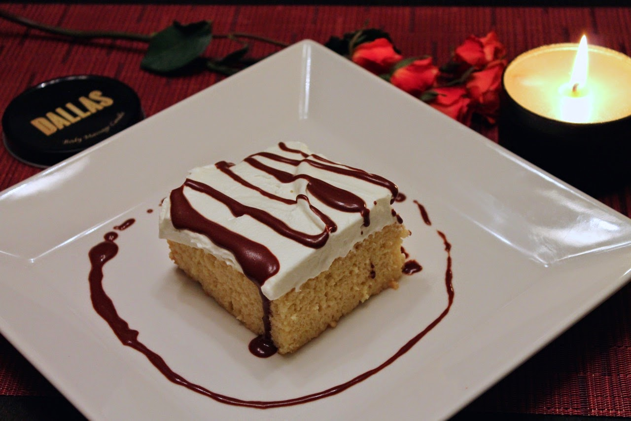 Dallas Desserts Valentine's Day Edition: Tres Leches Cake