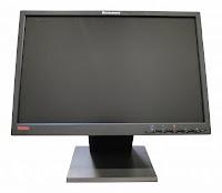 Monitor 19 inch LCD Lenovo ThinkVision L19x Black, Grad B