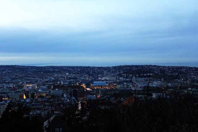 Widok na Stuttgart