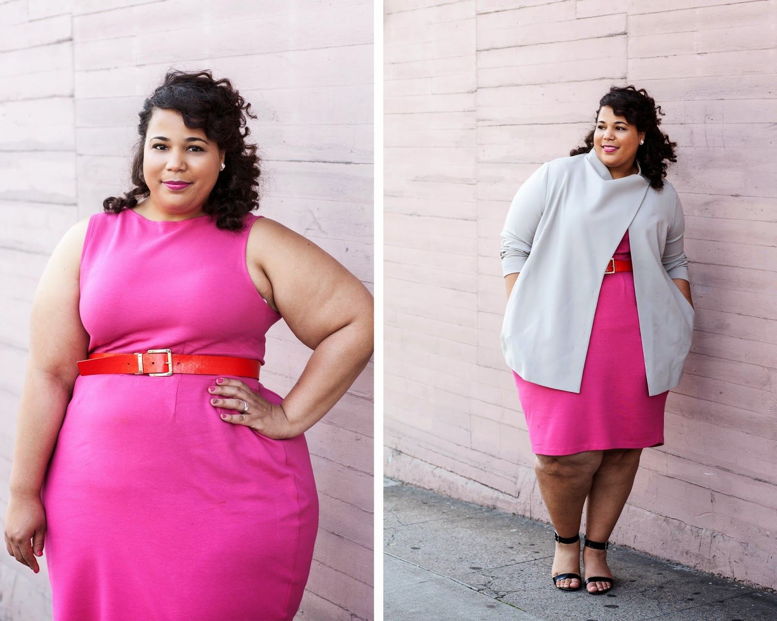 Marina Rinaldi Blazer, Plus Size Pink Dress, Curling Wand Review