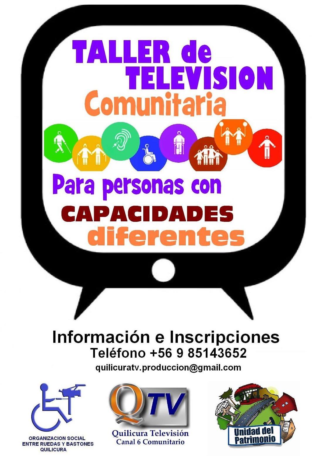TALLER DE TELEVISION COMUNITARIA PARA PERSONAS CON CAPACIDADES DIFERENTES EN QUILICURA