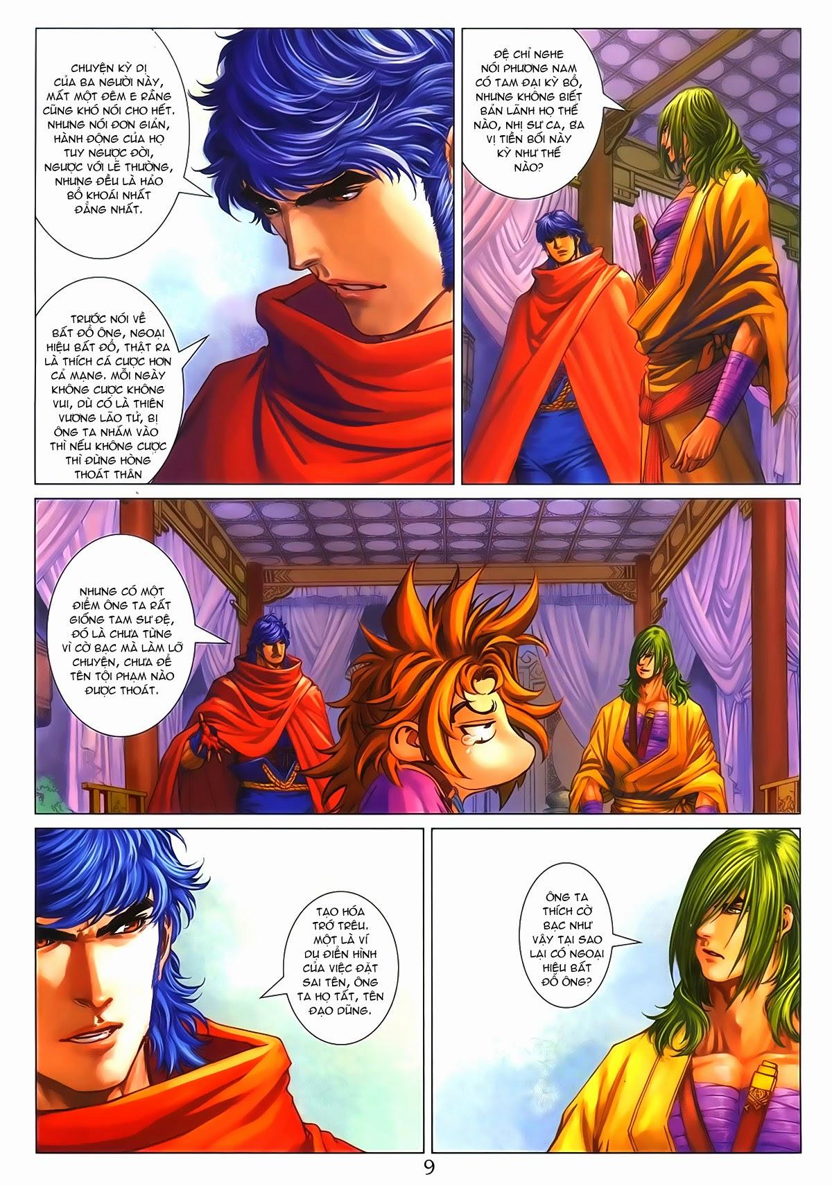 Tứ Đại Danh Bổ Chap 286 - Trang 9