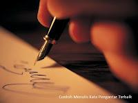 Contoh dan Cara Menulis Kata Pengantar Yang Baik dan Benar