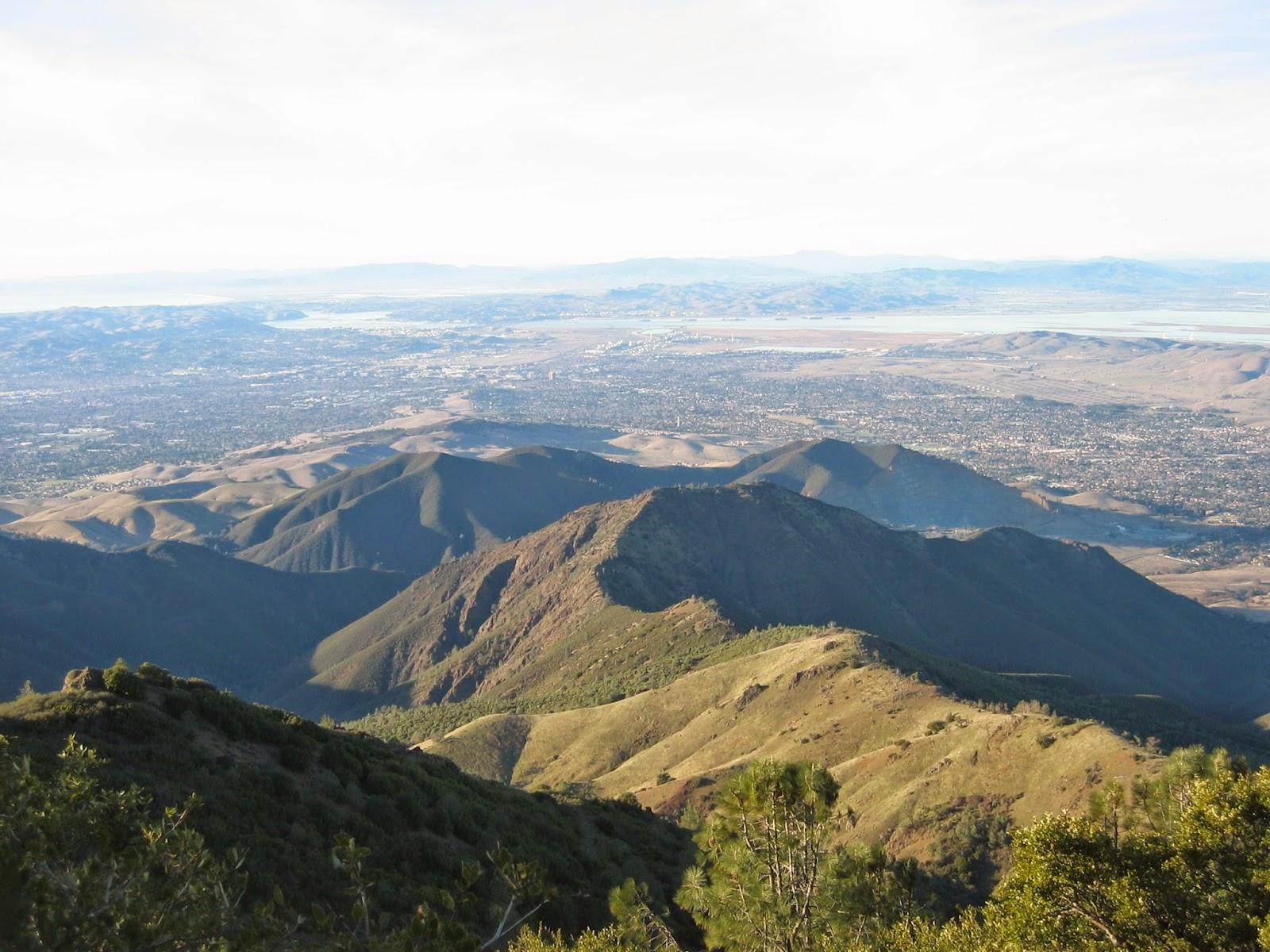 San Francisco East Bay view Mt. Diablo California by Rachel Medanic