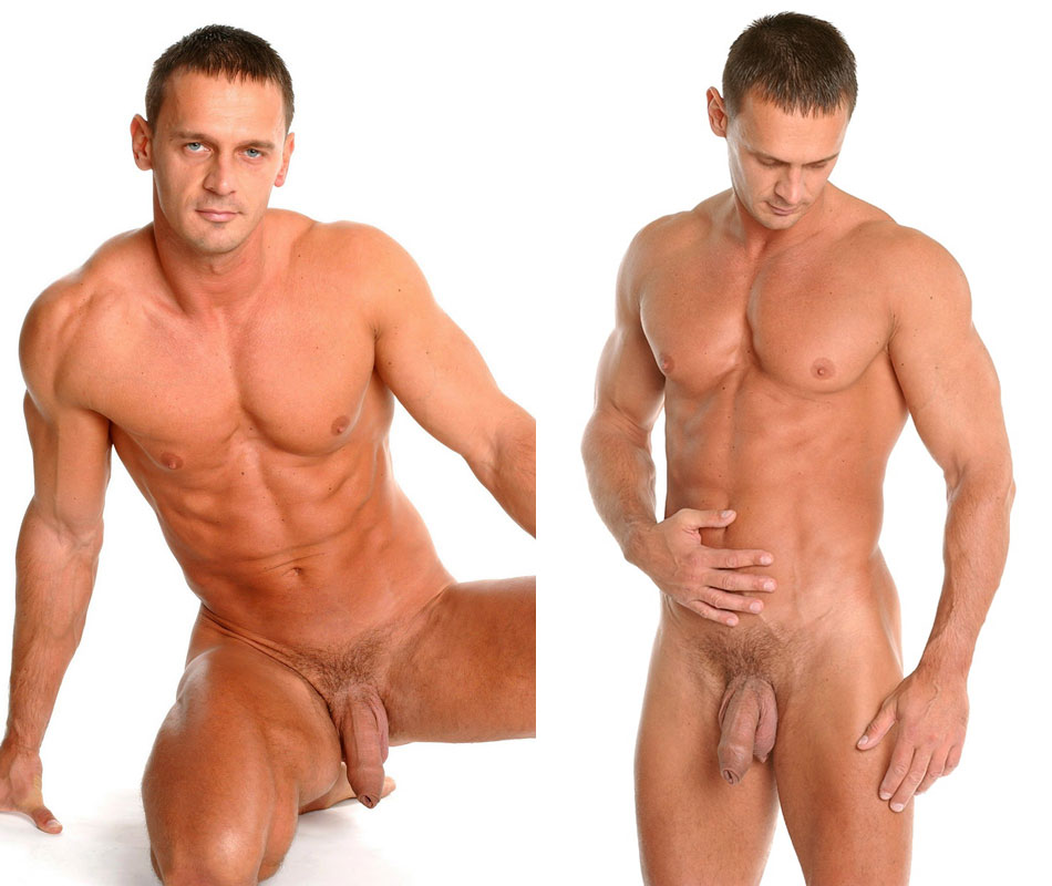 male nude body