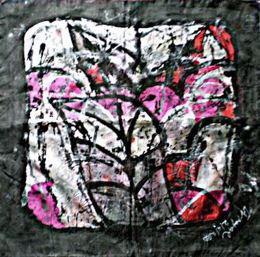 "Noir (22"" X 22"") 24/10/2010"