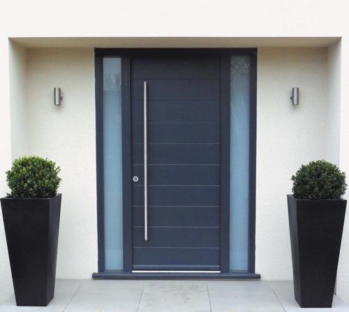 The arquitectura y dise o arquitectura y dise o de for Puertas de madera para casas modernas