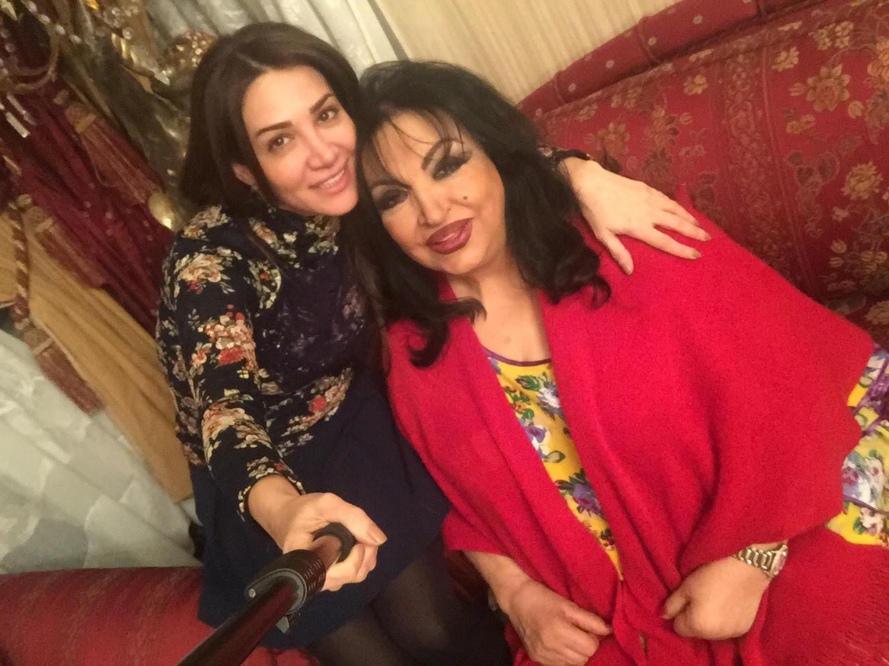 ديانا حداد تنفي شائعة وفاة سميرة توفيق