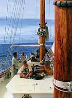 Phuket sailing and the Seraph a gaff rigged schooner Yacht