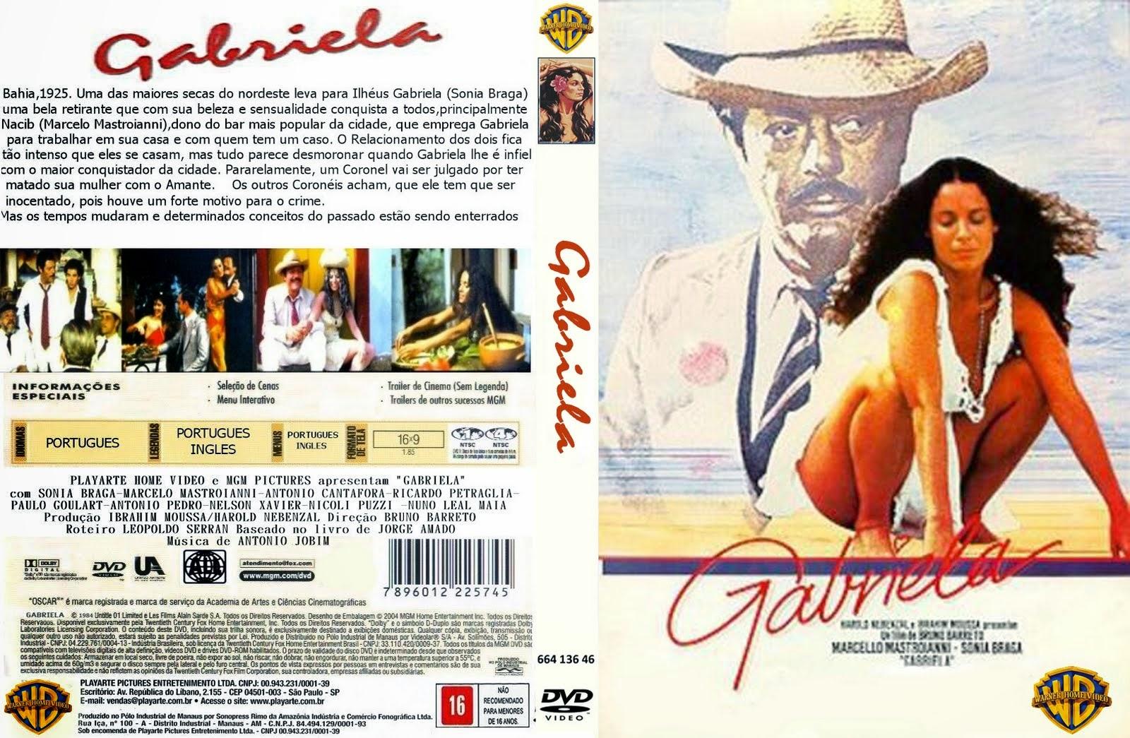 Gabriela, Cravo e Canela (1984) - Caratula