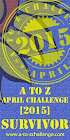 2015 A to Z Blogging Challenge Survivor!