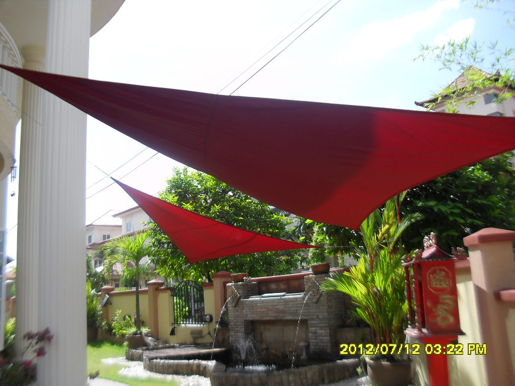 unme home upkeep diy sail shade for your garden