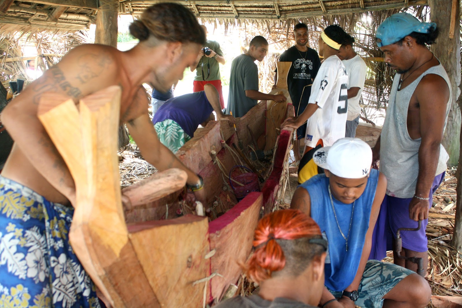 High School Yap Micronesia