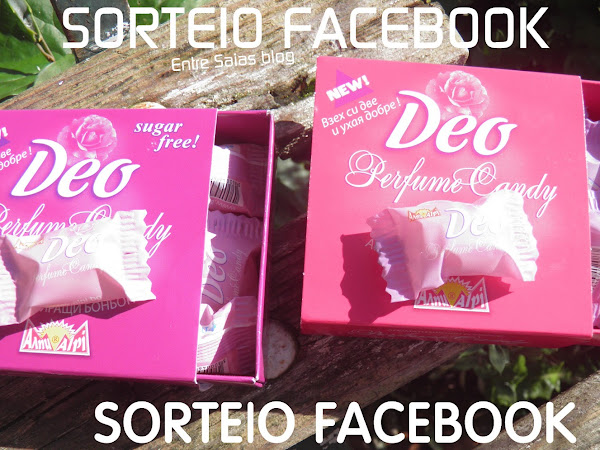 Sorteio no Facebook - Perfume comestível